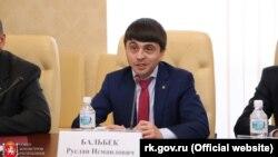 Вице-премьер Крыма, подконтрольный России, Руслан Бальбек