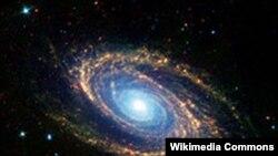 Спиральная галактика M81. Примерно так выгладит со стороны и наша Галактика