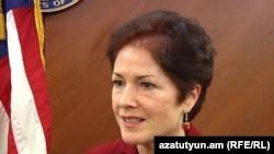 Armenia -- U.S. Ambassador Marie Yovanovitch, Yerevan, 20Dec2010