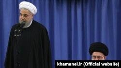 پیامهای نوروزی خامنهای و روحانی، حمله و دفاع