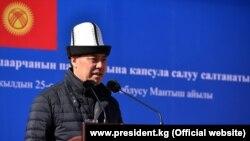 Содир Ҷабборов, сарвазир ва иҷрокунандаи вазифаи президенти Қирғизистон
