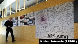 Umjetnici svijeta su darovali svoja djela gradu Sarajevu: Enver Hadžiomerspahić