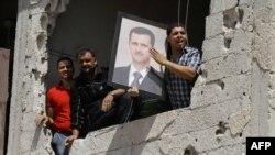 Bashar Assad'ın tərəfdarları