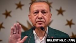 Туркия президенти Режеп Таййип Эрдоған