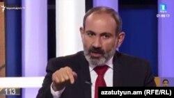 Исполняющий обязанности премьер-министра Армении, лидера блока «Мой шаг» Никол Пашинян
