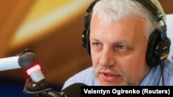 Journalist Pavel Sheremet was killed in Kyiv in July 2016.