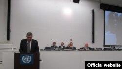 Nebojša Radmanović na debati u UN
