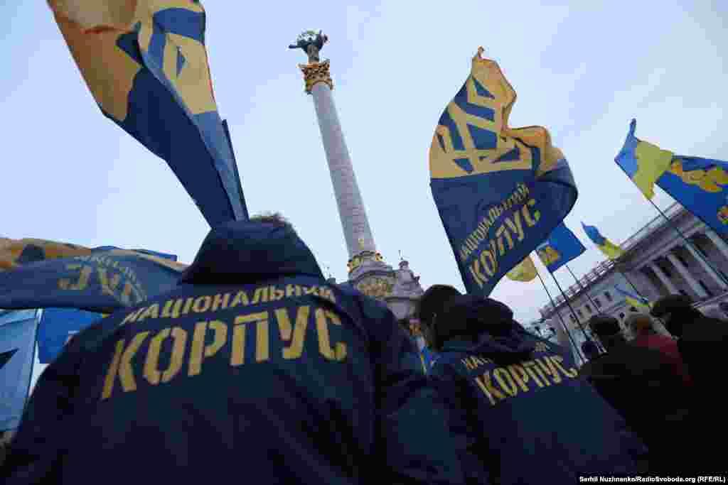 Організаторами акції виступили ВО «Свобода», а також були представники від «Національного корпусу» і «Правого сектора»