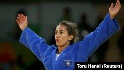 Majlinda Kelmendi gjatë Olimpiadës së Rios