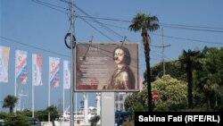 Soci, Rusia 2016: Reclamă pentru Petru cel Mare