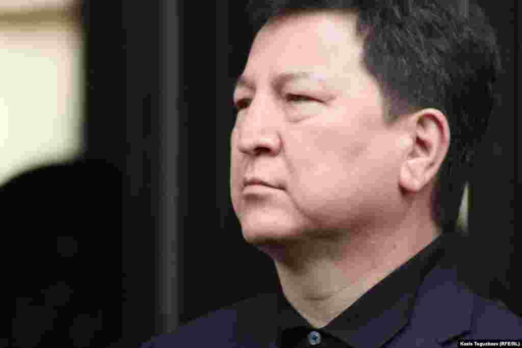 Нұрғали Білісбеков, ҰҚК-нің Алматы қаласы және Алматы облысы бойынша департамент төрағасы. Алматы, 5 сәуір 2012 жыл.