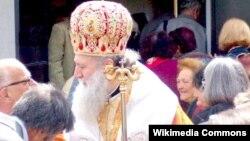 Патријархот Неофит, поглавар на Бугарската православна црква.
