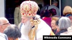 Архивска фотогарфија. Патријархот Неофит на Бугарската православна црква.