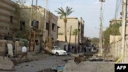 شارع في أحد الأحياء ببغداد