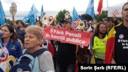 Protest antiguvernamental la București, 27 iunie 2018