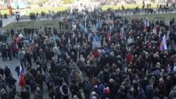 Захоплення Донецької ОДА. Хроніка (відео)