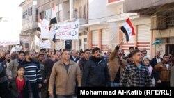 مظاهرة احتجاجية في الموصل