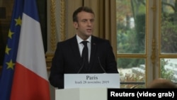 Франция президенти Эммануэл Макрон.