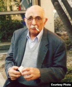 А.М. Пятигорский в Швейцарии, 2002. Фото Людмилы Пятигорской