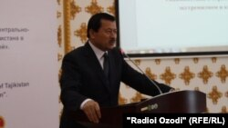 Саймумин Ятимов, глава Госкомитета национальной безопасности Таджикистана.