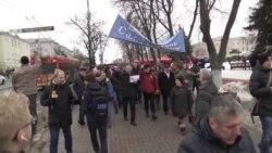 Протесты в Гомеле против закона о дармоедах