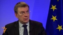 Edgars Rinkevics despre sancțiunile împotriva Rusiei