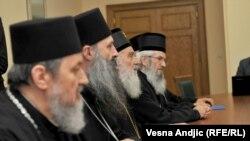 Patriarh Irinej na sastanku kod premijera Srbije