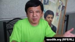Заслуженный артист Узбекистана, художник и юморист Обид Асомов.
