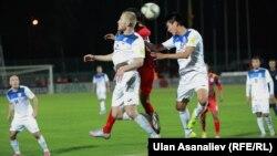 Кыргызстан менен Бангладештин футбол боюнча улуттук курама командаларынын беттеши. 13-октябрь, 2015-ж.