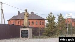 Төмән янындагы Кырынкүл авылында репрессияләр системасын булдырган Дзержинскийга һәйкәл