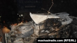 Pakistan -- Peshawar bomb explosion in which tribal journalist Nasrullah has been killed, 11May2011