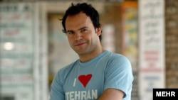 An undated photo of Hossein Derakhshan in Tehran