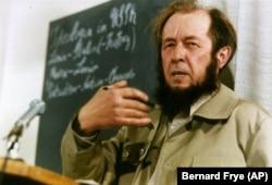 Александр Солженицын в Цюрихе, ноябрь 1974