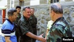 Ratko Mladic a implementat ordinele de genocid ale lui Radovan Karadzic.