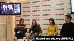 Учасники прес-конференції щодо звільнення полонених на Донбасі, 11 лютого 2016 року