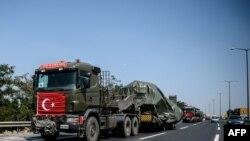 کاروان نیروهای زرهی ترکیه (عکس از آرشیو)