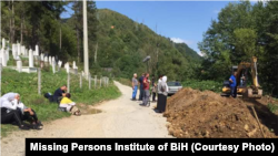 Ekshumacija u Srebrenici