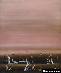 "Ив Танги, ""Геометрия сна"", 1935 © VEGAP, 2013"