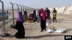 Banorë të zhvendosur nga Falluxha, 10 qershor 2016