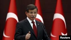 Түркиянын премьер-министри Ахмет Давытоглу.
