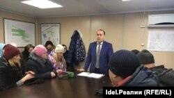 Ильшат Гимаев на встрече с соципотечниками 30 января 2017 года