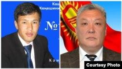Шекербек Камчыбеков и Медетбек Айдаралиев.