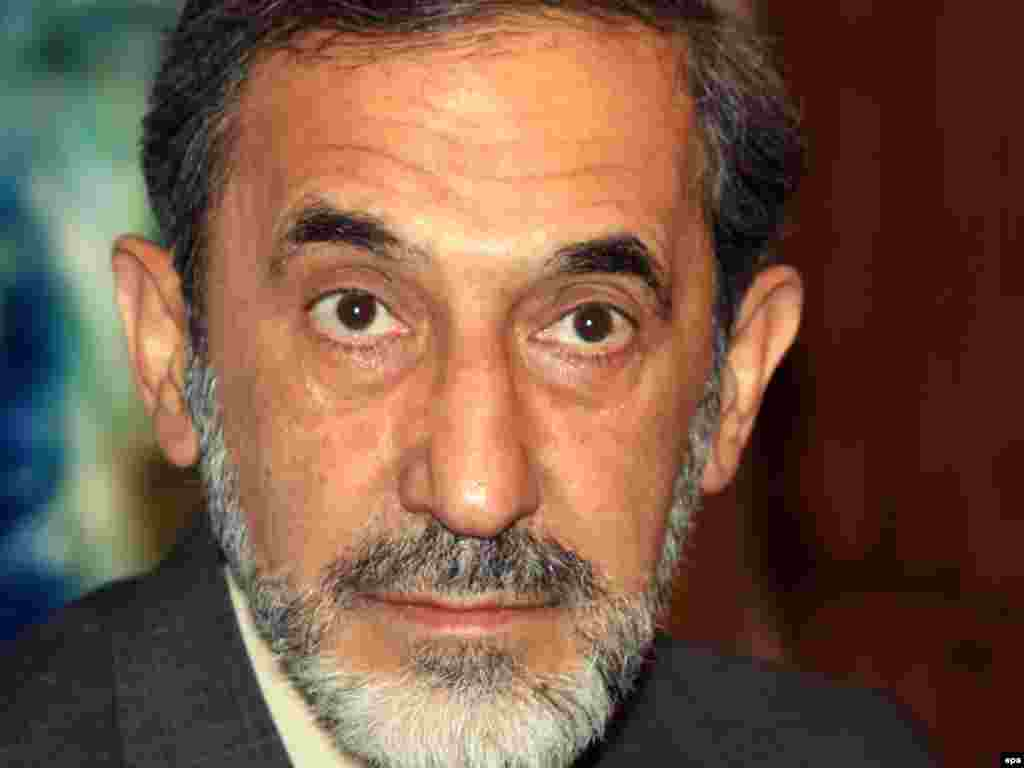 """A FAVORITE: Akbar Velayati, 67, is a former foreign minister and Khamenei's senior adviser on international affairs. Velayati reportedly has the support of many influential figures in the conservative camp. He gave up plans to contest the 2005 presidential vote after former President Akbar Hashemi Rafsanjani announced plans to run. In August, """"Entekhab"""" reported that Velayati had tasked some of his close friends to manage his election campaign. The launch in 2012 of his personal website led to increased speculation about his political ambitions."""