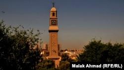 برج ساعة القشلة وسط بغداد