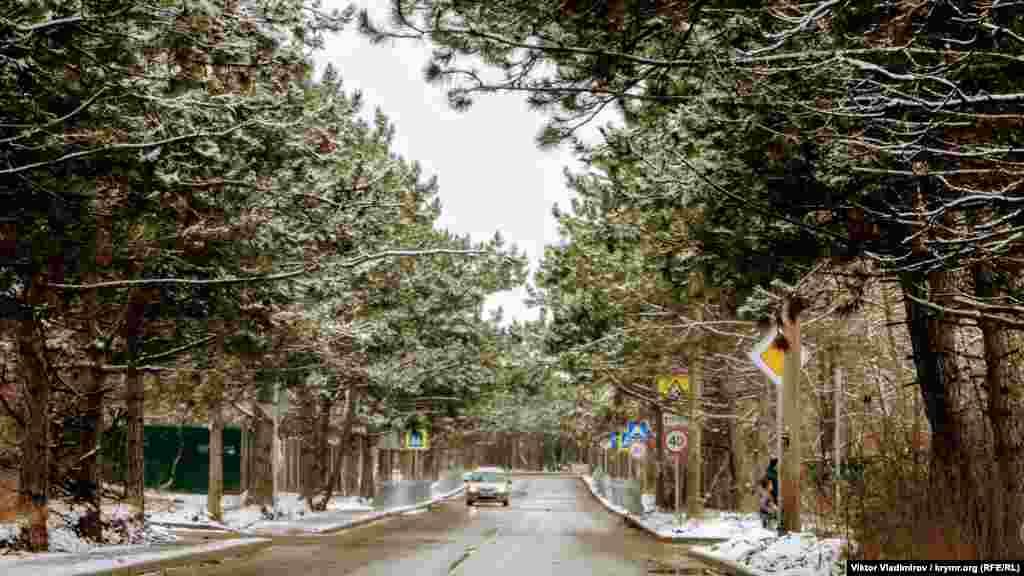 Улица Аральская в Симферополе