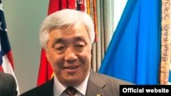 Министр иностранных дел Казахстана Ерлан Идрисов. Июль 2013 года.