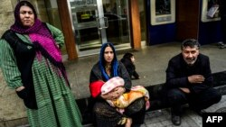 Թուրքիա - Սիրիացի փախստականներ Ստամբուլում, փետրվար, 2016թ․