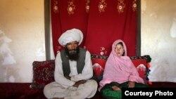 په افغانستان کې په کم عمر کې د نجونو ودولو یوه بېلګه.