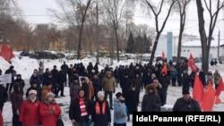 Протестная акция в Самаре