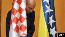 Zastava Hrvatske i Bosne i Hercegovine